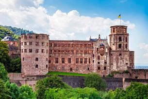 Heidelberg Castle, Heidelberg, Baden-Wurttemberg, Germanyの写真素材 [FYI02339313]