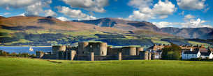 Beaumaris Castle, 1284, UNESCO World Heritage Siteの写真素材 [FYI02339357]