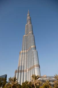 Burj Khalifa, Dubai, Emirate of Dubai, United Arabの写真素材 [FYI02339372]