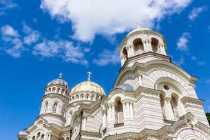 Russian Orthodox Church, Nativity Cathedral, Kristusの写真素材 [FYI02339399]