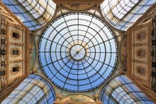 Galleria Vittorio Emanuele II, gallery, Milano, Milanの写真素材 [FYI02339410]
