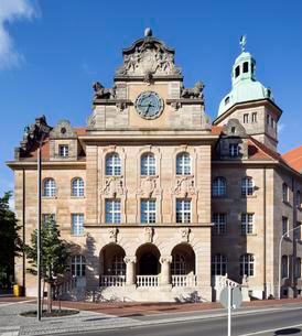 University, Bamberg, Upper Franconia, Bavaria, Germanyの写真素材 [FYI02339422]