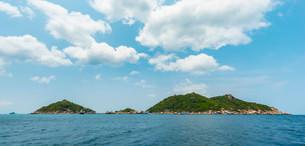 Koh Nang Yuan or Nangyuan Island, near Koh Tao, Gulf ofの写真素材 [FYI02339452]