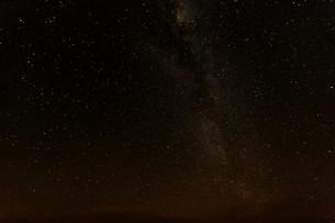 Milky Way above the Namib-Naukluft National Park, Namibiaの写真素材 [FYI02339478]