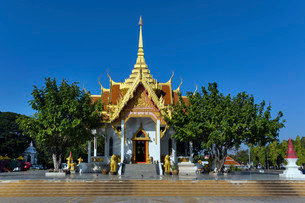 San Lak Muang, Mueang, City Pillar, City Pillar Shrineの写真素材 [FYI02339480]