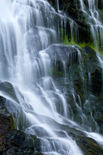 Todtnau waterfall, Todtnau, Black Forestの写真素材 [FYI02339618]
