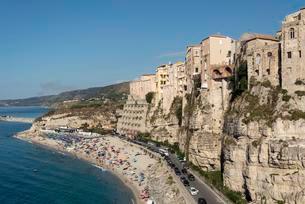 Tropea, Calabria, Italy, Europeの写真素材 [FYI02339700]