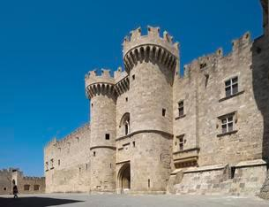 Grand Master's Palace, Rhodes Town, Rhodes, Dodecaneseの写真素材 [FYI02339742]