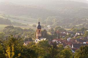 Monchberg, Spessart, Lower Franconia, Franconia, Bavariaの写真素材 [FYI02339858]