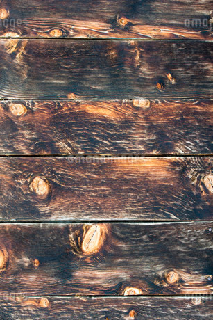Wall with weathered wooden boardsの写真素材 [FYI02339862]