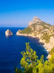 Cap de Formentor, Majorca, Balearic Islands, Spain, Europeの写真素材 [FYI02339897]