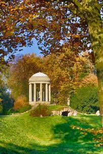 Autumn in Worlitzer Park, UNESCO World Heritage Gardenの写真素材 [FYI02339955]
