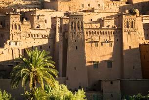 Kasbah Ait Benhaddou, UNESCO World Heritage Site, Aitの写真素材 [FYI02339989]