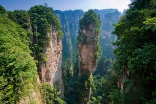 Hallelujah Mountains, sandstone towers, mountains ofの写真素材 [FYI02339998]
