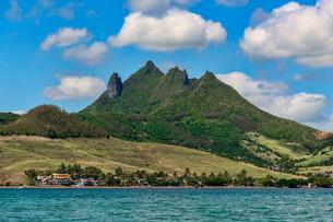 Ile aux Cerfs, Mauritius, Africaの写真素材 [FYI02340007]