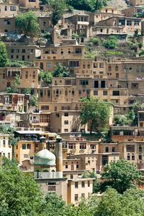Terraced mountain village, Masuleh, Masooleh, Masoulehの写真素材 [FYI02340051]