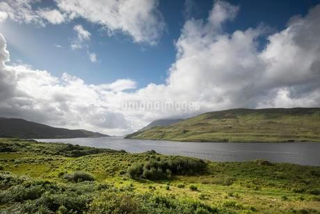 Killary Harbour, Ireland's only fjord, County Galwayの写真素材 [FYI02340084]