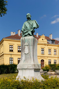Monument of Emperor Franz Josef I as King of Hungaryの写真素材 [FYI02340093]
