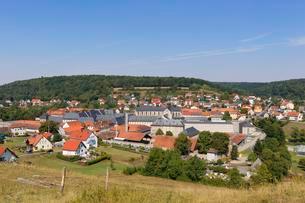 Former monastery and prison, Ebrach, Steigerwald, Middleの写真素材 [FYI02340162]