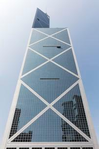 Bank of China Tower, architect I. M. Pei, District Centralの写真素材 [FYI02340209]