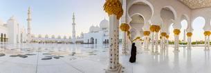 Sheikh Zayed Mosque, Sheikh Zayed Grand Mosque, Abu Dhabiの写真素材 [FYI02340454]