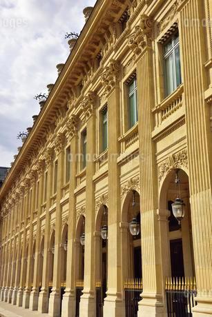 Facade of the Palais Royale, old city palace, now theの写真素材 [FYI02340702]