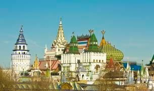 The Izmaylovo Kremlin, a cultural and entertainment centreの写真素材 [FYI02340718]
