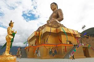 Buddha Point Thimphu, Thimphu District, Bhutan, Asiaの写真素材 [FYI02340738]