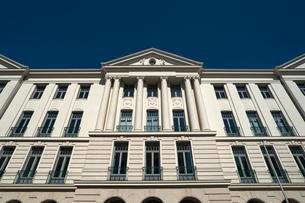 Ministry of Finance, facade, Schwerin, Mecklenburg-Westernの写真素材 [FYI02340749]
