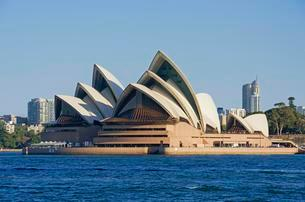 Sydney Opera House, Sydney, New South Wales, Australiaの写真素材 [FYI02340789]
