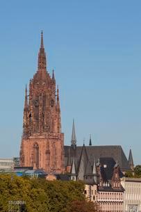 Frankfurt Cathedral, Frankfurt am Main, Hesse, Germanyの写真素材 [FYI02340872]
