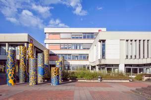 Main campus of the University of Hildesheim, Building Kの写真素材 [FYI02340914]