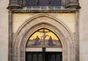Castle Church in Wittenberg, Unesco World Heritage Siteの写真素材 [FYI02340955]