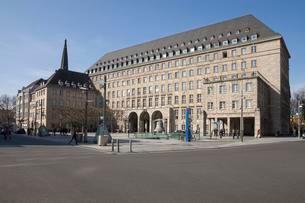 City Hall, Bochum, Ruhr district, North Rhine-Westphaliaの写真素材 [FYI02340970]