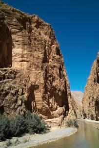 Dades Gorges, High Atlas, Souss-Massa-Draa, Moroccoの写真素材 [FYI02340985]