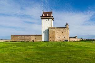 Hermann Castle, fortress, Narva, Estonia, Europeの写真素材 [FYI02340997]