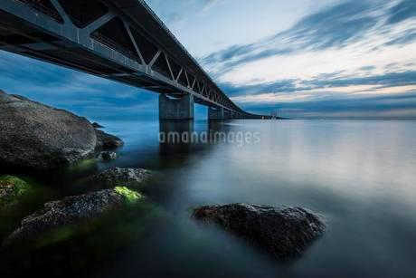 Oresund Bridge, oresundsbroen, world's longestの写真素材 [FYI02341047]
