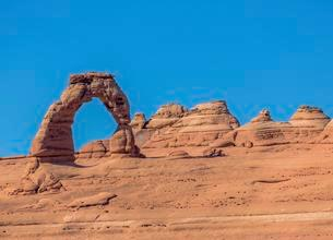 Delicate Arch, Arches National Park, Moab, Utah, USA, Northの写真素材 [FYI02341109]