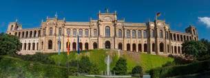 Maximilianeum, Bavarian Parliament, Munich, Upper Bavariaの写真素材 [FYI02341133]