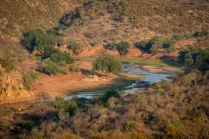 Luvuvhu River, Kruger National Park, South Africa, Africaの写真素材 [FYI02341149]
