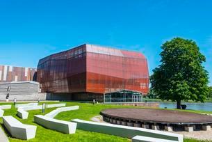 Planetarium Copernicus Science Centre, Warsaw, Mazoviaの写真素材 [FYI02341151]
