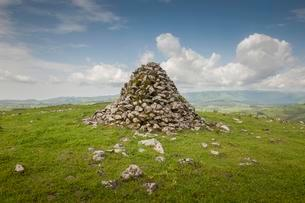 Mysterious stone heaps associated with German colonialの写真素材 [FYI02341156]