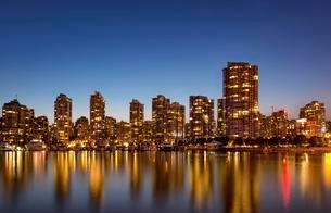Skyline, Vancouver, British Columbia, Canada, North Americaの写真素材 [FYI02341222]