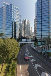 Office towers, residential towers, Taikoo Shingの写真素材 [FYI02341264]