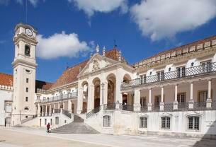 University, Faculty of Law, Coimbra, Beira Litoral, Centroの写真素材 [FYI02341344]