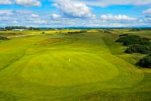 Greens of St Andrews Links Golf Course, St Andrews, Fifeの写真素材 [FYI02341445]