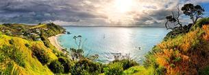 Russell, Bay of Islands Coastal Park, North Island, Newの写真素材 [FYI02341467]