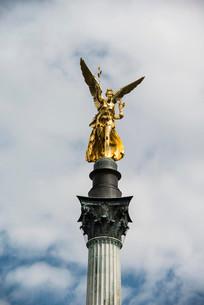 Angel of Peace, Munich, Upper Bavaria, Bavaria, Germanyの写真素材 [FYI02341483]