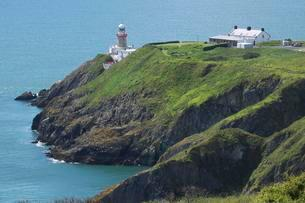 Baily Lighthouse, Howth Peninsula, County Leinsterの写真素材 [FYI02341498]