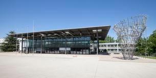 World Conference Center, former plenary hall, Bonnの写真素材 [FYI02341585]